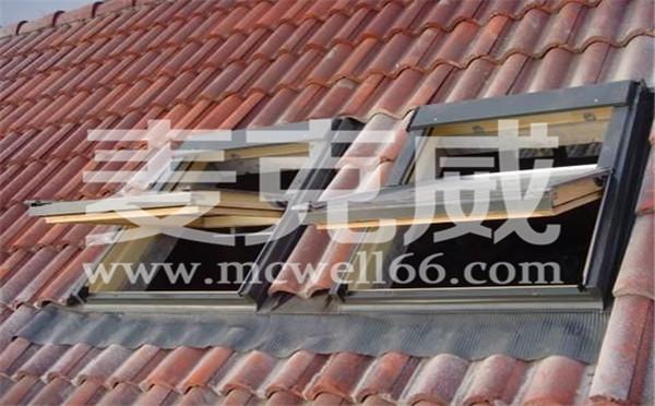 斜屋顶天窗特点